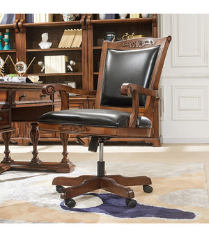 ASHTON OFFICE CHAIR - Classic Chesterfield