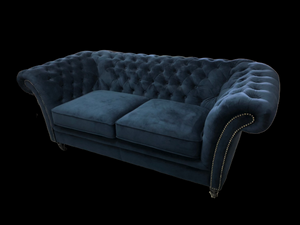 ALEXANDRIA FABRIC CHESTERFIELD - Classic Chesterfield