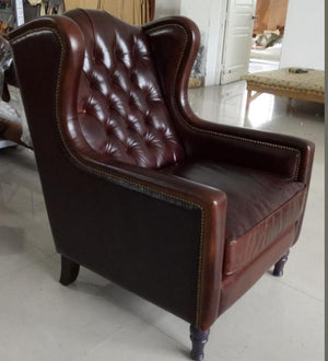 LONDON WING CHAIR CHESTERFIELD - Classic Chesterfield