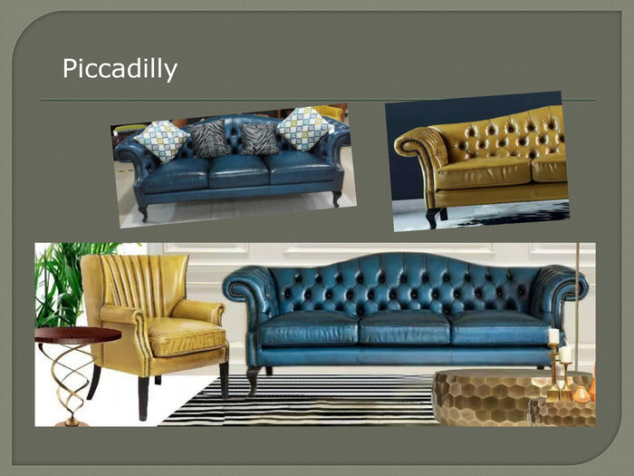 Piccadilly Vintage Chesterfield