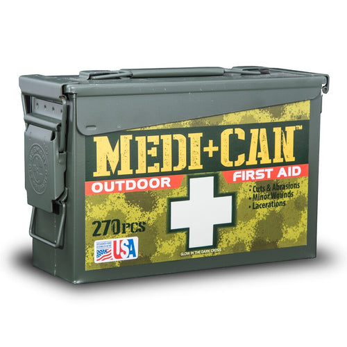 270 Piece Outdoor First Aid Kit