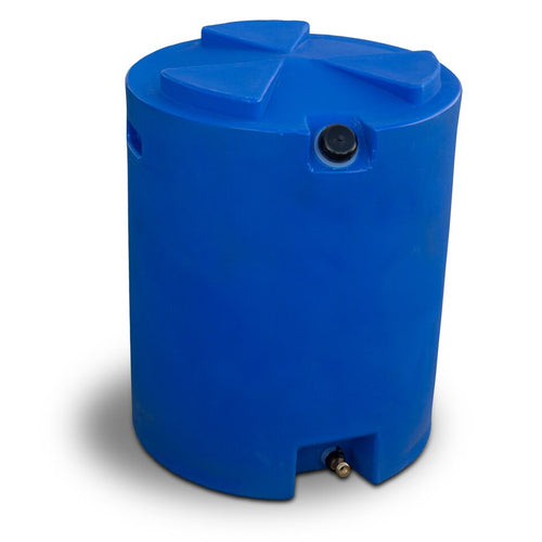 50 Gallon Water Storage Tank with Hose Adapter and Valve