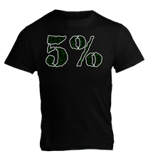Load image into Gallery viewer, 5% nutrition T-Shirt Noir