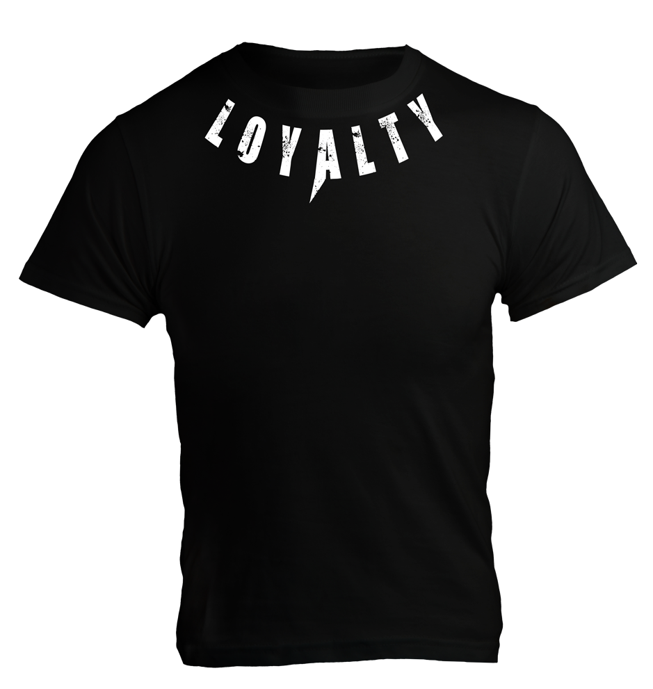 5% nutrition T-Shirt Loyalty Noir