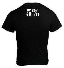 Load image into Gallery viewer, 5% nutrition T-Shirt Legend Noir