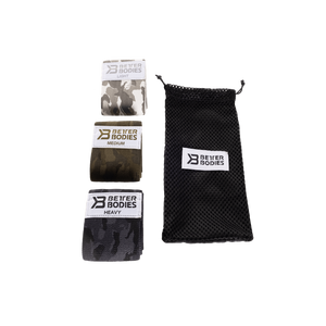 BetterBodies Glute Force - 3 Packs - Camo Color