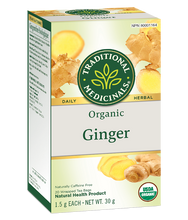 Load image into Gallery viewer, Traditional Medicals - Ginger Herbal Tea - 20 tea bags