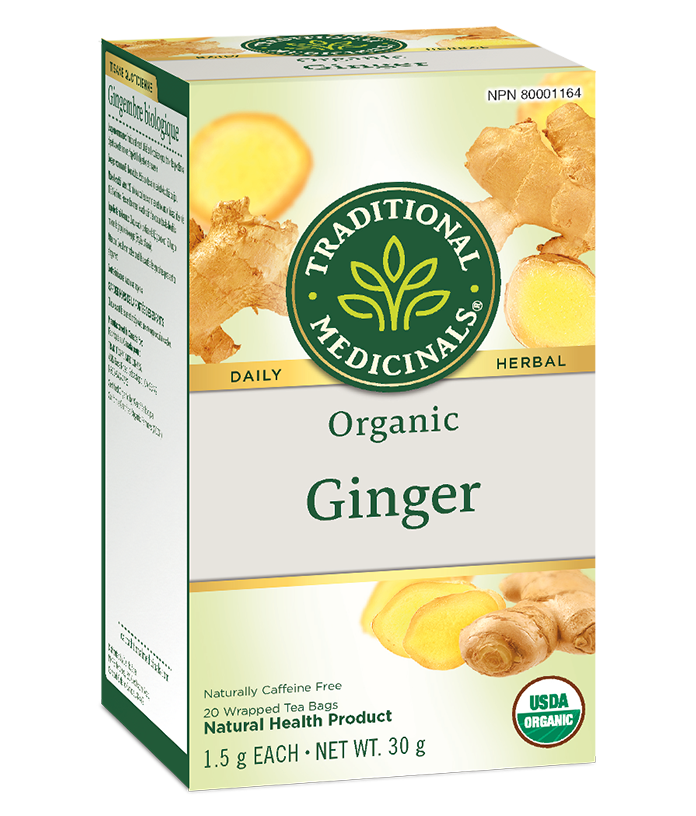 Traditional Medicals - Ginger Herbal Tea - 20 tea bags