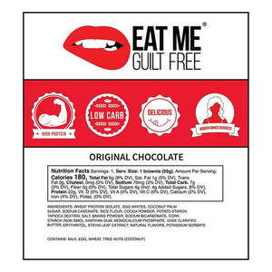 Eat Me Guilt Free Brownie 55g