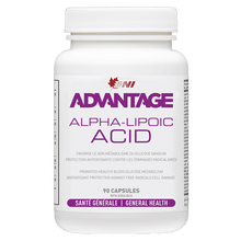 Load image into Gallery viewer, Advantage Alpha Lipoic Acid - ALA-  90 caps