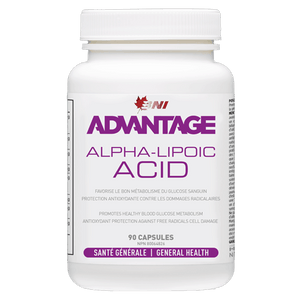 Advantage Alpha Lipoic Acid - ALA-  90 caps