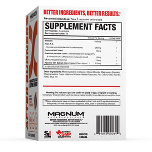 Magnum Nutraceuticals After Burner 72 caps