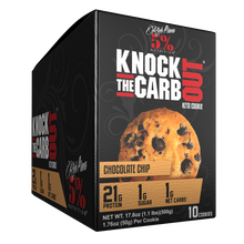 Load image into Gallery viewer, 5% Nutrition Knock the Carbs Out Cookie 10x68g