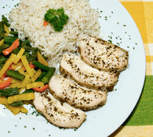 Load image into Gallery viewer, Wave2go Poulet Italien sur Riz avec Legumes 425g