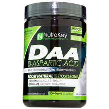 Load image into Gallery viewer, NutraKey DAA D-Aspartic Acid 300g