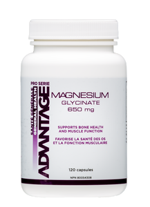 Advantage Magnesium Glycinate 120 caps