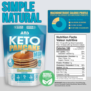 ANS Performance Keto Pancake Mix 454g