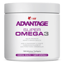 Load image into Gallery viewer, Advantage Omega3 180 gels