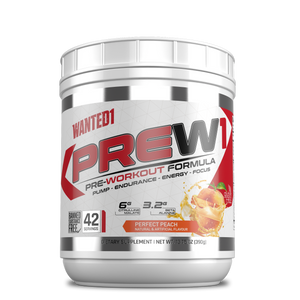 Wanted1 PreW1 - Pre Workout Formula - 42 serving