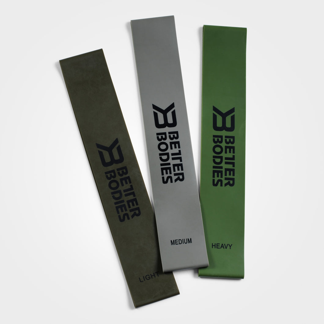 BetterBodies Resistance Band (pack of 3)