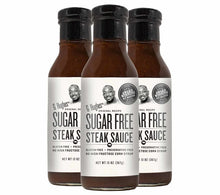 Load image into Gallery viewer, G Hughes Sugar Free Steak Sauce 367g