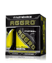 Load image into Gallery viewer, Nutrabolics Aggro 168 caps