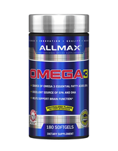 Load image into Gallery viewer, Allmax Omega3 180 gels