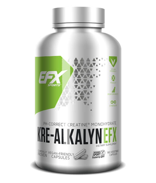 EFX Sports Kre-Alkalyn 180 vegecaps