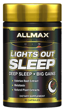 Load image into Gallery viewer, Allmax Lights Out Sleep 60 caps