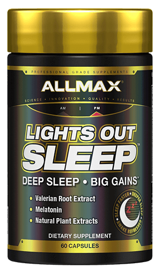 Allmax Lights Out Sleep 60 caps