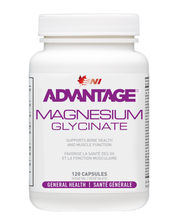 Load image into Gallery viewer, Advantage Magnesium Glycinate 120 caps