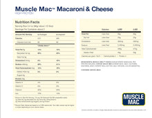 Load image into Gallery viewer, Muscle Mac - High Protein Macaroni & Cheese - 191g