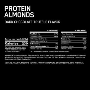 Optimum Nutrition Protein Almonds 12x43g