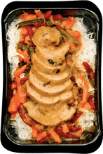 Load image into Gallery viewer, Wave2go Thaï chicken stir fry on rice vermicelli 425g
