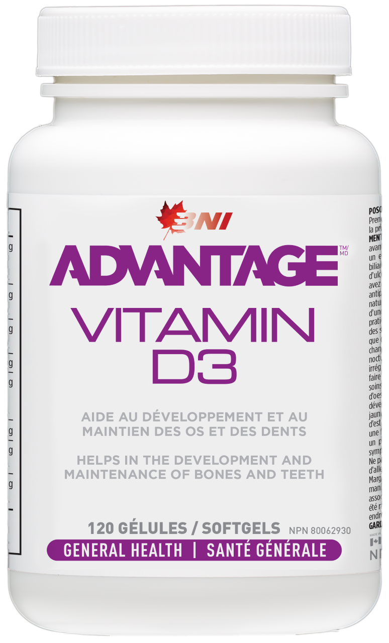 Advantage Vitamine D3 120 caps