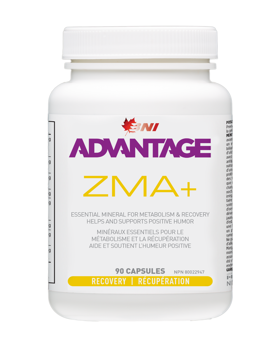 Advantage ZMA+ 90 caps