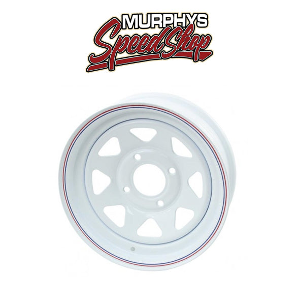 EMPI 10-1004 WHITE SPOKE 4 LUG / 7in WIDE
