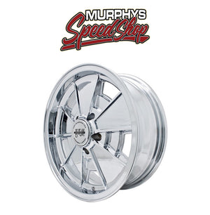 "EMPI 10-1089 17"" X 7"" VW BUS 5 LUG CHROME EMPI BRM WHEEL INCLUDES CAP-VALVE STEM"
