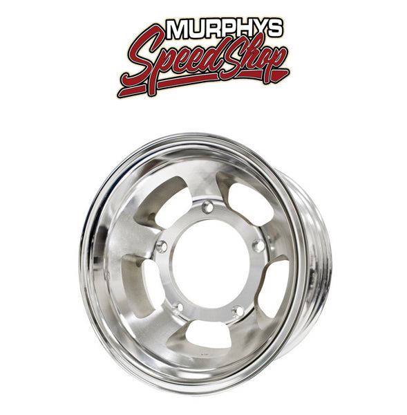 "EMPI 10-1104 RACE-TRIM 16"" X 4"" VW BAJA BUG 5 LUG OFF ROAD ALUMINUM WHEEL"