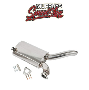 Empi 3481 SIDEFLOW MUFFLER, Stainless, Fits EMPI 00-3448-0 Exhaust