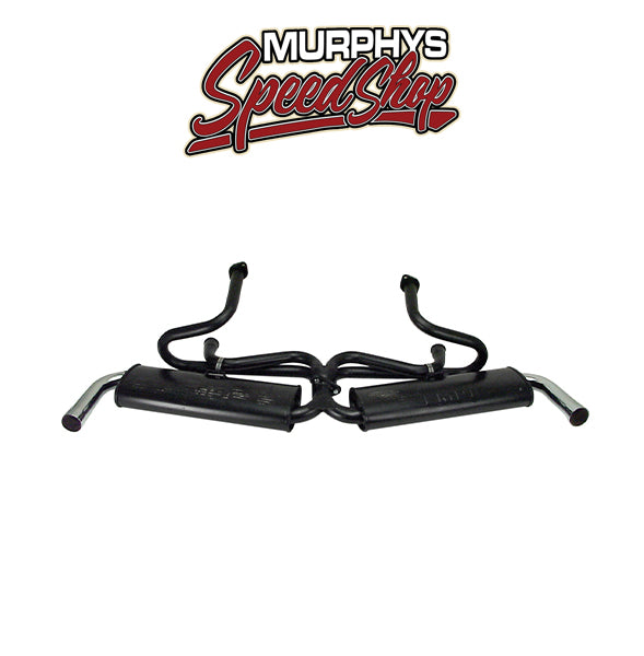 Empi 3662 Dual Quiet Exhaust Type 3, 1500-1600cc