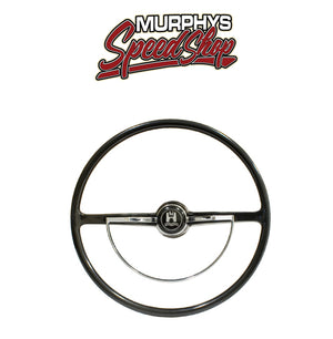 EMPI 79-4005 STEERING WHEEL, For Beetle 62-71, Ghia 62-71, Black
