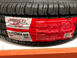 P195/75R14 VERCELLI GTP BUS FITMENT