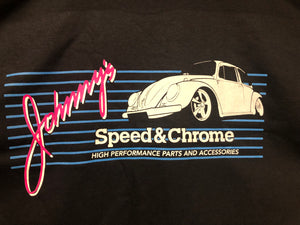 JOHNNY'S SPEED & CHROME T SHIRTS-2ND DESIGN-TM