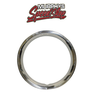 "EMPI 10-1068 Stainless Steel Beauty Rings For 14"" O.E. Steel Wheels, Set Of 4"