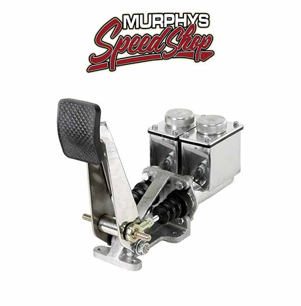 "EMPI 16-2176 Dune Buggy Pedal Assembly, Tall 3/4"" X 3/4"" Polish/Brake Reservoirs"