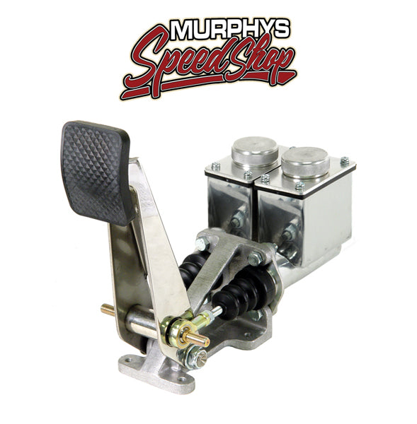 EMPI 16-2533 SINGLE BRAKE PEDAL, Dual 7/8 and 3/4 Bore Master Cylinders