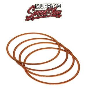 "EMPI 16-9529 VW AIR COOLED BUG SAND RAIL, COPPER HEAD GASKETS 90.5-92mm .040"" SET 4"
