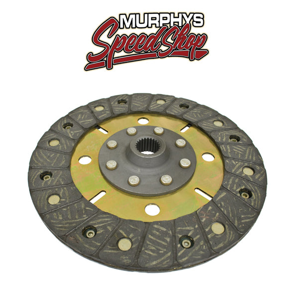 "EMPI 16-9900 Heavy Duty Kush Lock 200mm/8"" Rigid Clutch Disc Vw Spline Hole"