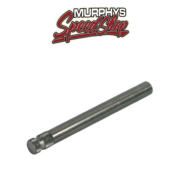 "EMPI 17-2608 Steel Steering Shaft 6"" Length 5/8""-36 Spline X 5/8"" Smooth, Each"